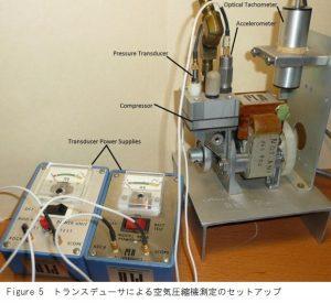 空気圧縮機セットアップ